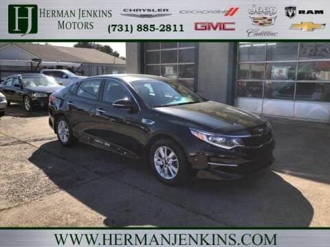 2016 Kia Optima for sale at Herman Jenkins Used Cars in Union City TN