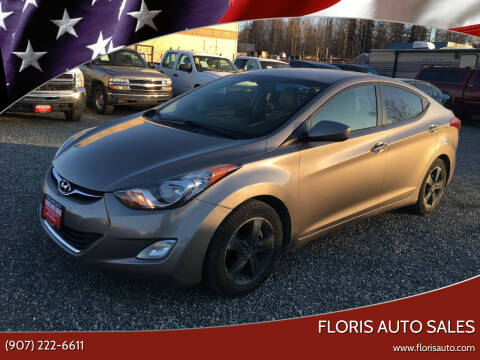 2012 Hyundai Elantra for sale at FLORIS AUTO SALES in Anchorage AK