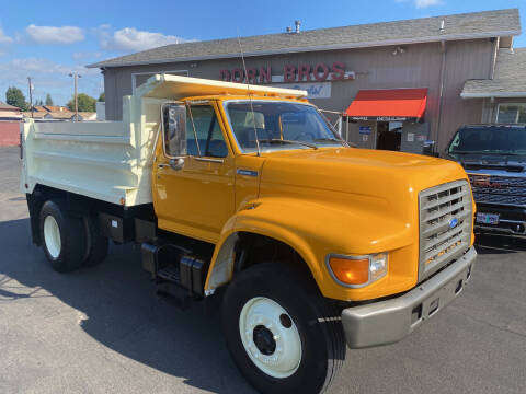 1995 Ford F800 5yd Dump for sale at Dorn Brothers Truck and Auto Sales in Salem OR