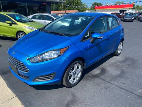 2015 Ford Fiesta for sale at Wise Investments Auto Sales in Sellersburg IN