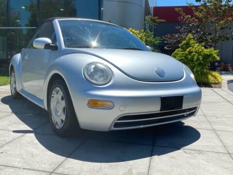 2004 Volkswagen New Beetle Convertible for sale at Top Motors in San Jose CA