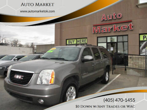 2008 GMC Yukon XL for sale at Auto Market in Oklahoma City OK