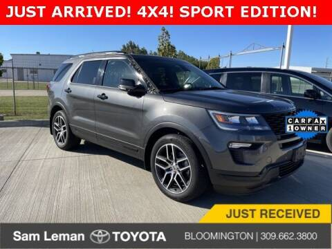 2019 Ford Explorer for sale at Sam Leman Toyota Bloomington in Bloomington IL