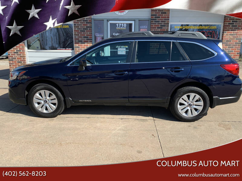 2018 Subaru Outback for sale at Columbus Auto Mart in Columbus NE