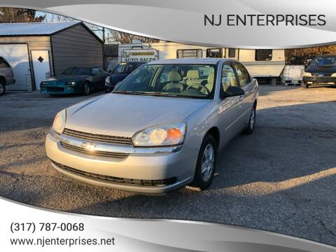 2005 Chevrolet Malibu for sale at NJ Enterprises in Indianapolis IN