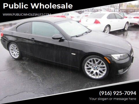 2007 BMW 3 Series for sale at Public Wholesale in Sacramento CA