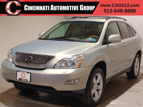 2007 Lexus RX 350 for sale at Cincinnati Automotive Group in Lebanon OH