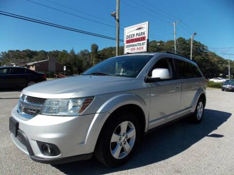 2012 Dodge Journey for sale at Deer Park Auto Sales Corp in Newport News VA