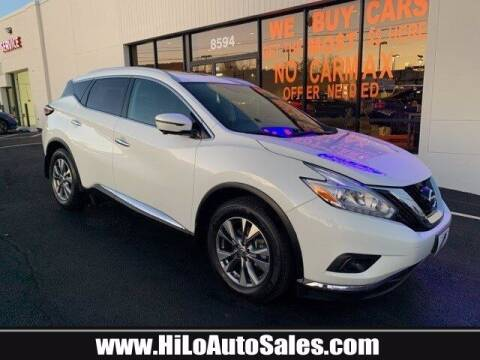 2017 Nissan Murano for sale at Hi-Lo Auto Sales in Frederick MD