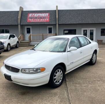 2000 Buick Century for sale at Stephen Motor Sales LLC in Caldwell OH