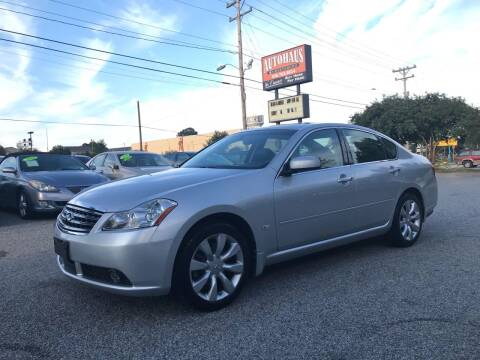 2006 Infiniti M35 for sale at Autohaus of Greensboro in Greensboro NC