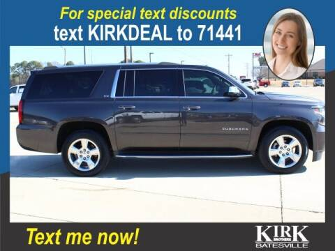 2016 Chevrolet Suburban for sale at Kirk Brothers Batesville in Batesville MS