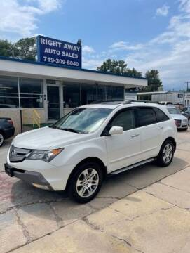 2009 Acura MDX for sale at Right Away Auto Sales in Colorado Springs CO