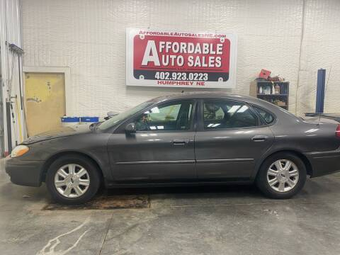 2005 Ford Taurus for sale at Affordable Auto Sales in Humphrey NE