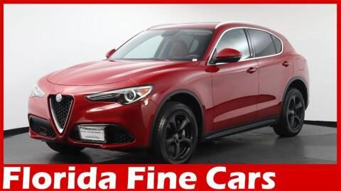 2019 Alfa Romeo Stelvio for sale at Florida Fine Cars - West Palm Beach in West Palm Beach FL
