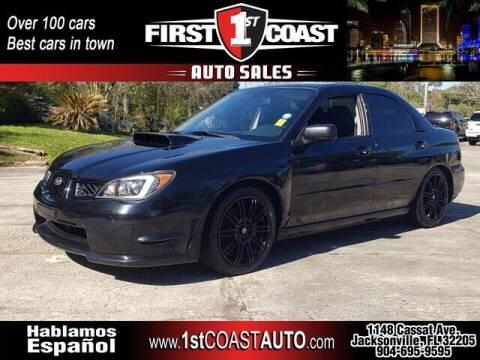 2006 Subaru Impreza for sale at 1st Coast Auto -Cassat Avenue in Jacksonville FL