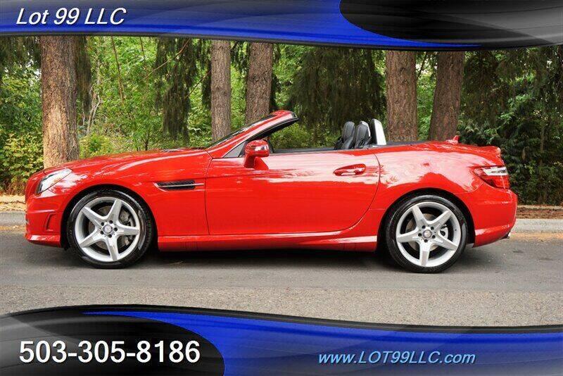 2015 Mercedes-Benz SLK for sale at LOT 99 LLC in Milwaukie OR