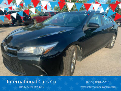 2016 Toyota Camry for sale at International Cars Co in Murfreesboro TN