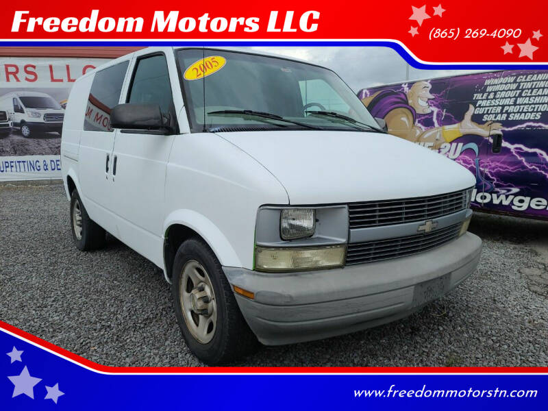 2005 Chevrolet Astro Cargo for sale at Freedom Motors LLC in Knoxville TN