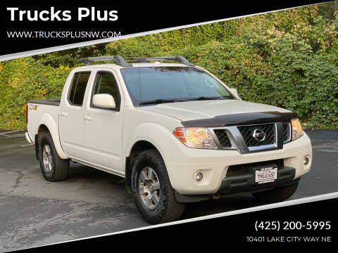 2013 Nissan Frontier for sale at Trucks Plus in Seattle WA