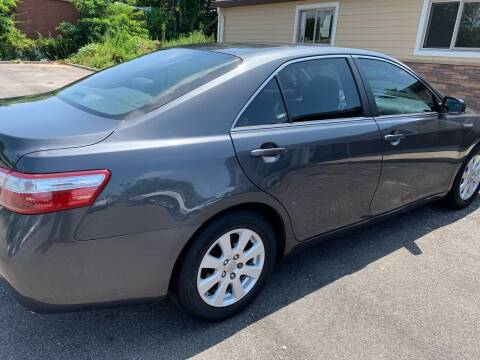 2009 Toyota Camry Hybrid for sale at Primary Motors Inc in Commack NY