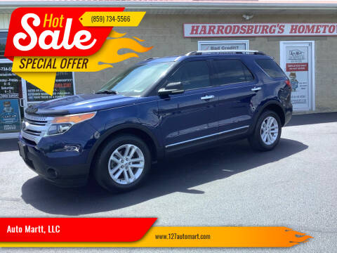 2012 Ford Explorer for sale at Auto Martt, LLC in Harrodsburg KY