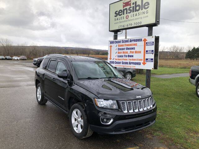 2016 Jeep Compass for sale at Sensible Sales & Leasing in Fredonia NY