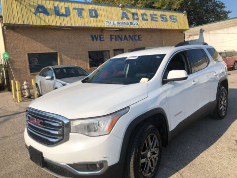 2017 GMC Acadia for sale at Auto Access in Irving TX