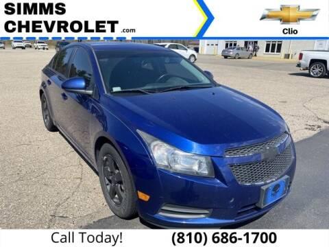 2013 Chevrolet Cruze for sale at Aaron Adams @ Simms Chevrolet in Clio MI
