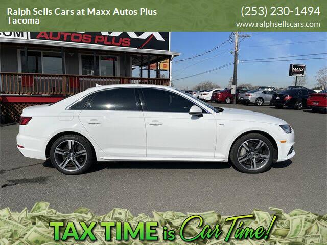 2017 Audi A4 for sale at Ralph Sells Cars at Maxx Autos Plus Tacoma in Tacoma WA