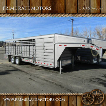 2021 GR 26FT STOCK COMBO TRAILER for sale at PRIME RATE MOTORS in Sheridan WY