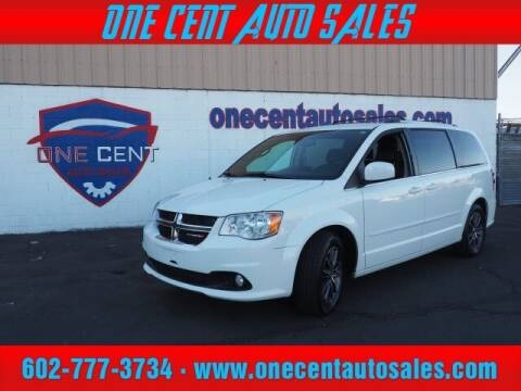 2017 Dodge Grand Caravan for sale at One Cent Auto Sales in Glendale AZ