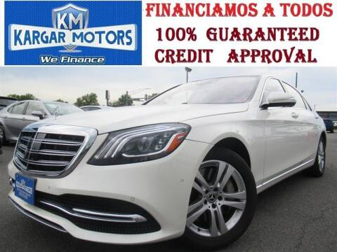2018 Mercedes-Benz S-Class for sale at Kargar Motors of Manassas in Manassas VA