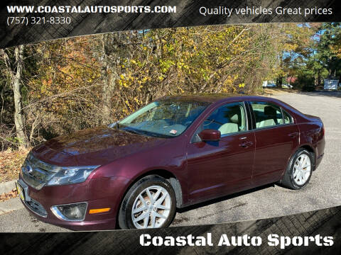 2012 Ford Fusion for sale at Coastal Auto Sports in Chesapeake VA