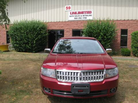 2007 Lincoln MKZ for sale at Unlimited Auto Sales & Detailing, LLC in Windsor Locks CT