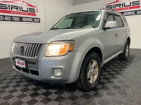 2008 Mercury Mariner Hybrid for sale at SIRIUS MOTORS INC in Monroe OH