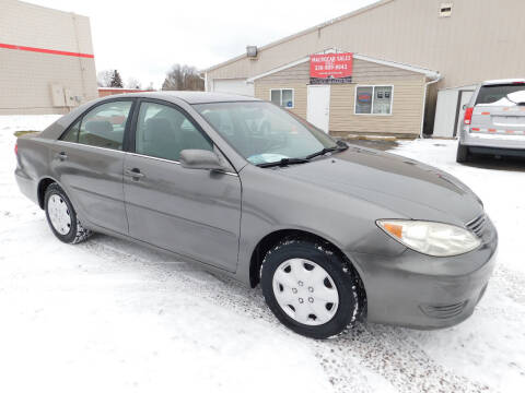 2005 Toyota Camry for sale at Macrocar Sales Inc in Akron OH