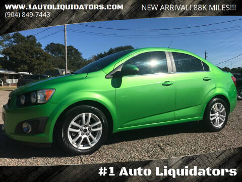 2014 Chevrolet Sonic for sale at #1 Auto Liquidators in Yulee FL