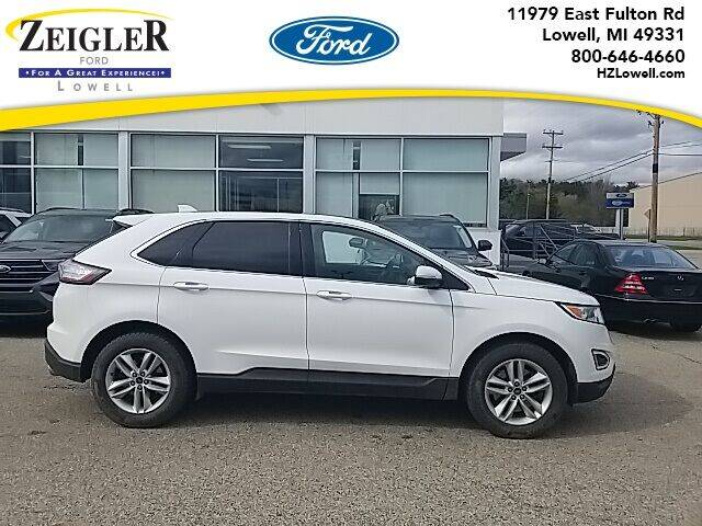 2016 Ford Edge for sale at Zeigler Ford of Plainwell- Jeff Bishop in Plainwell MI