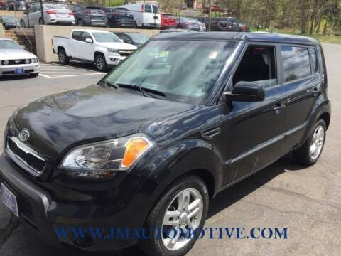 2011 Kia Soul for sale at J & M Automotive in Naugatuck CT