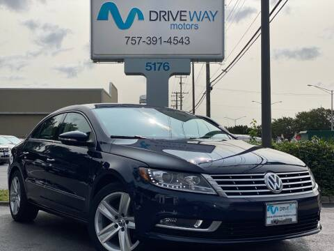2015 Volkswagen CC for sale at Driveway Motors in Virginia Beach VA