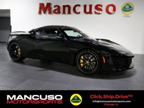 2020 Lotus Evora for sale at Mancuso Motorsports in Glenview IL