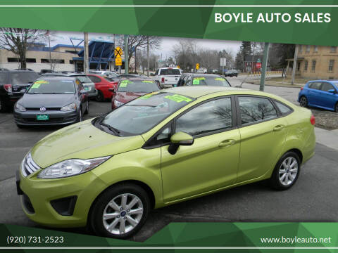 2013 Ford Fiesta for sale at Boyle Auto Sales in Appleton WI