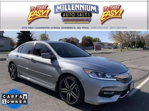 2017 Honda Accord for sale at Millennium Auto Sales in Kennewick WA