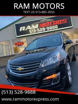 2015 Chevrolet Traverse for sale at RAM MOTORS in Cincinnati OH