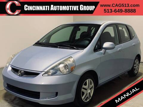 2008 Honda Fit for sale at Cincinnati Automotive Group in Lebanon OH