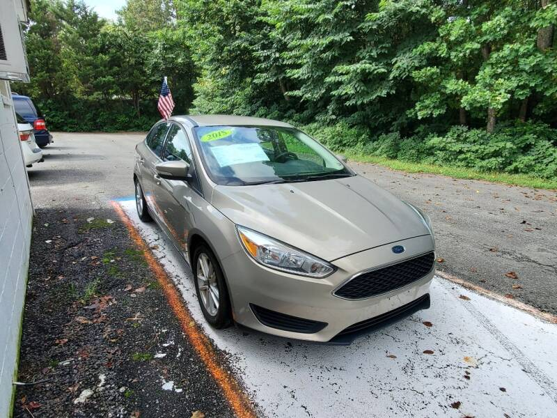 2015 Ford Focus for sale at ARCADIA MOTORS INC in Heathsville VA