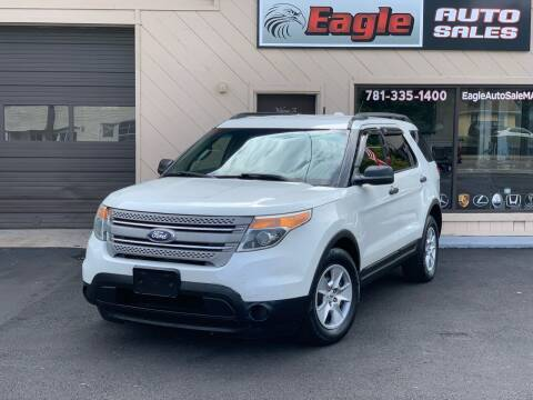 2012 Ford Explorer for sale at Eagle Auto Sales LLC in Holbrook MA