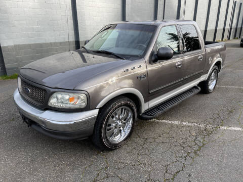 2002 Ford F-150 for sale at APX Auto Brokers in Lynnwood WA