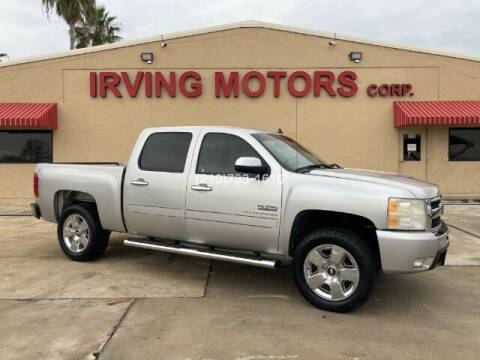 2010 Chevrolet Silverado 1500 for sale at Irving Motors Corp in San Antonio TX